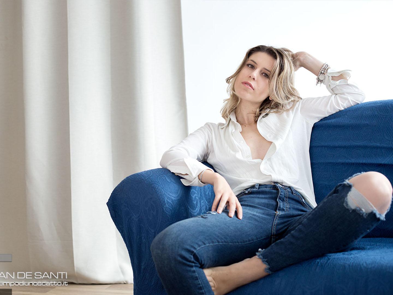 Categories: Fashion, Glamour, Portrait; Photo: CHRISTIAN DE SANTI; Model: LAVINIA LA BELLA; Location: Cross7 Studio – SIENA