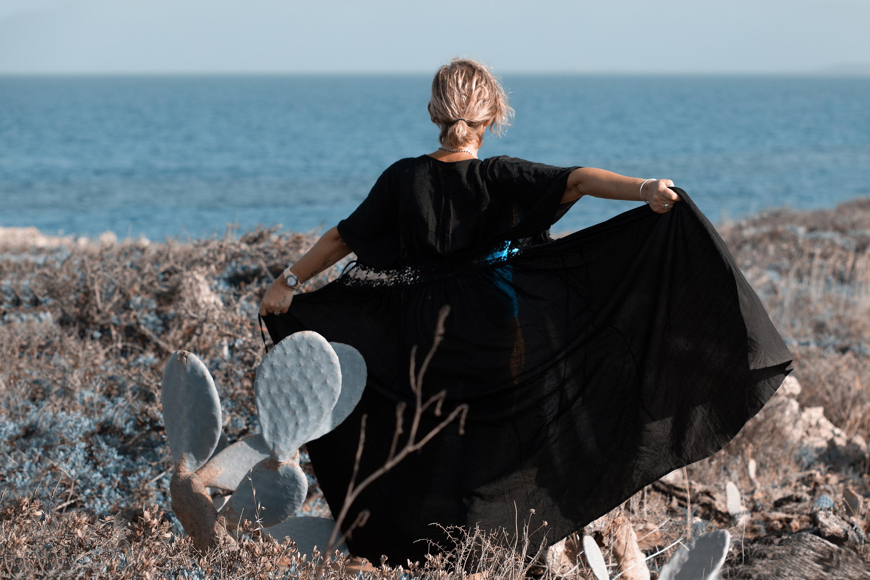 Categories: Fashion, Glamour, Landscape & Nature, Portrait; Photo: LUCA BARTOLI (ElleBierre photographer); Model: FEDERICA SANTI; Location: Oasi Faunistica di Vendicari, NOTO (SR)
