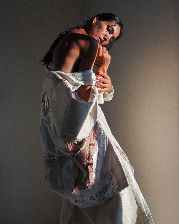 Categories: Fashion, Portrait; Photo: FRANCESCO LEONE; Model: CLAUDIA MOLINARO; Make up artrist: ANGELICA CIARLONE; Dress and styling: MARZIA DI PALMA; Project by MARZIA DI PALMA; Location: Civitanova del Sannio, IS