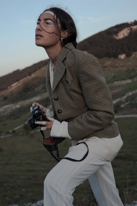 Categories: Fashion, Portrait; Photographer: FRANCESCO LEONE; Designer & Model: CLAUDIA MOLINARO; Project and styling: MARZIA DI PALMA; Make up artrist: ILENIA MARCHESANI; Location: Civitanova del Sannio, IS