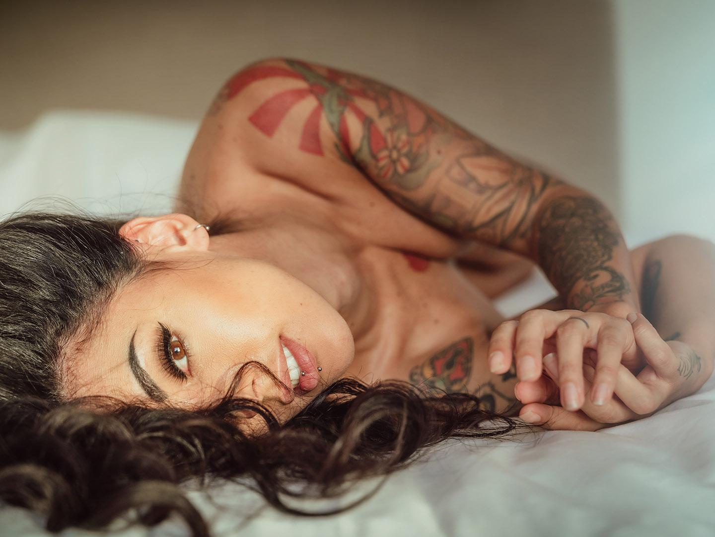 Categorie: Boudoir & Nude, Glamour, Portrait; Photo: NICO RUFFATO; Model: YEGOLA; Location: Milano, MI