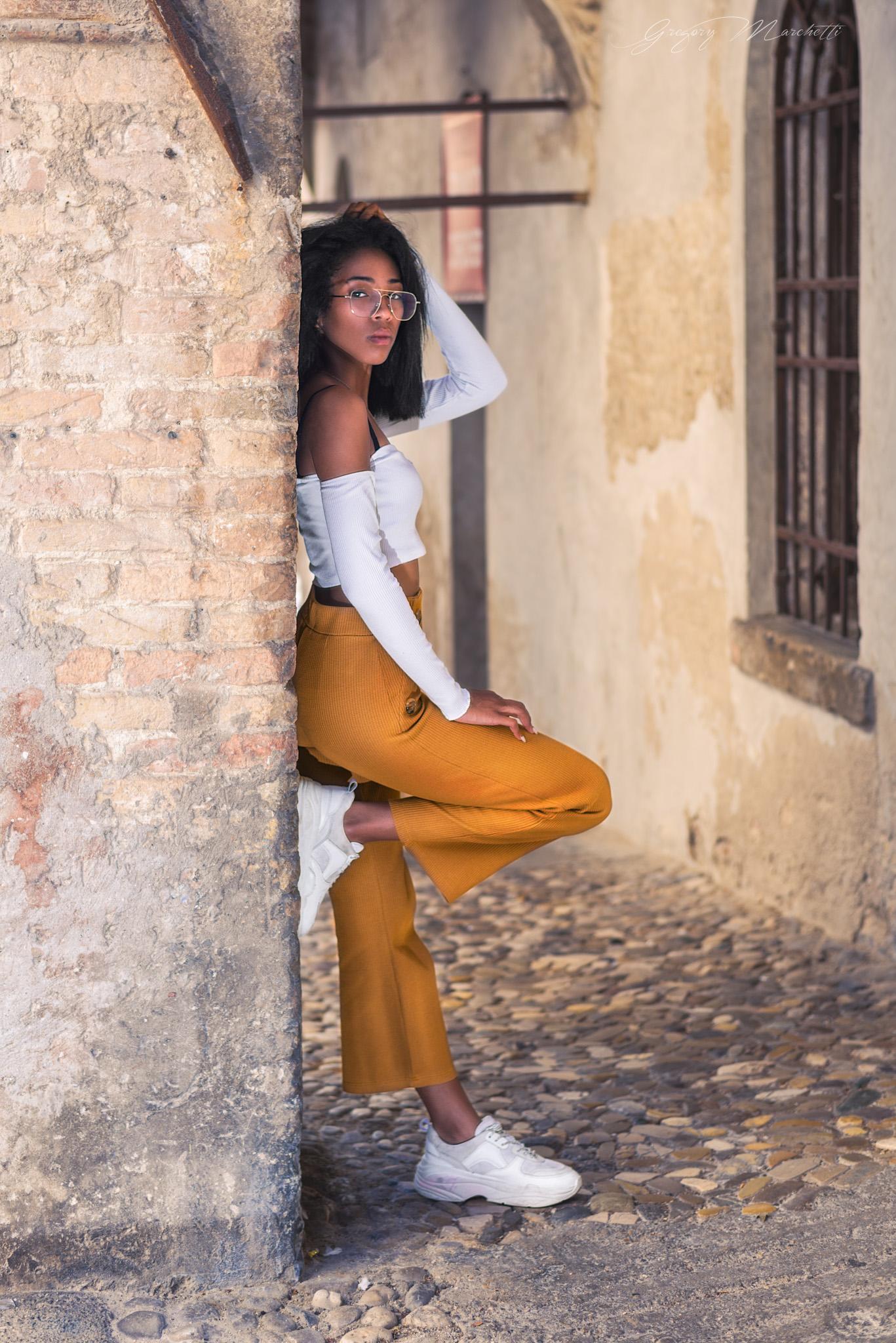 Categorie: Fashion, Glamour, Portrait; Photo: GREGORY MARCHETTI; Model: MARIAN PELLEGRINET; Location: Conegliano, TV