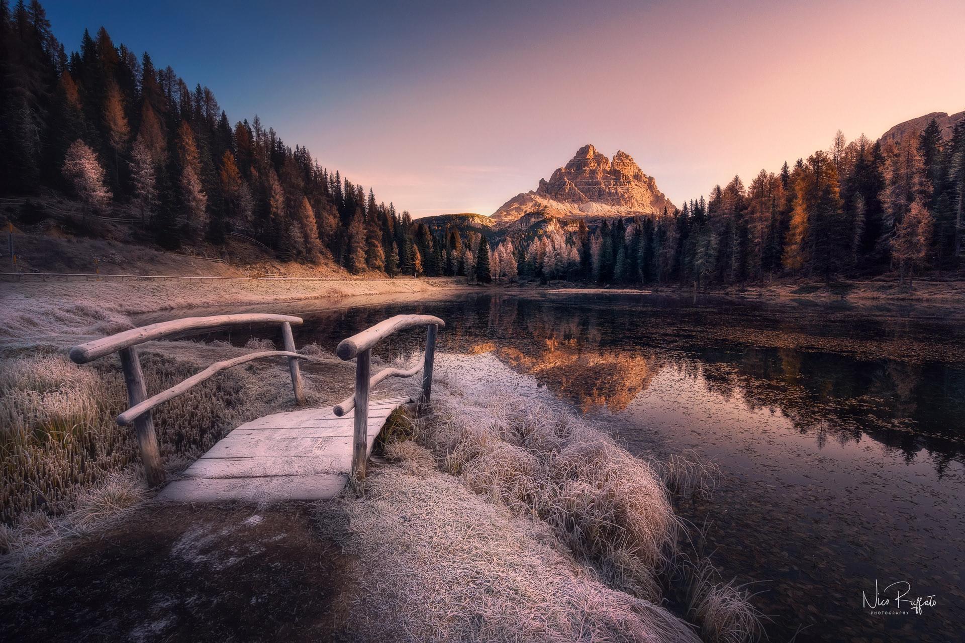 Categorie: Landscape & Nature; Photo: NICO RUFFATO; Location: Lago Antorno, Auronzo di Cadore, BL