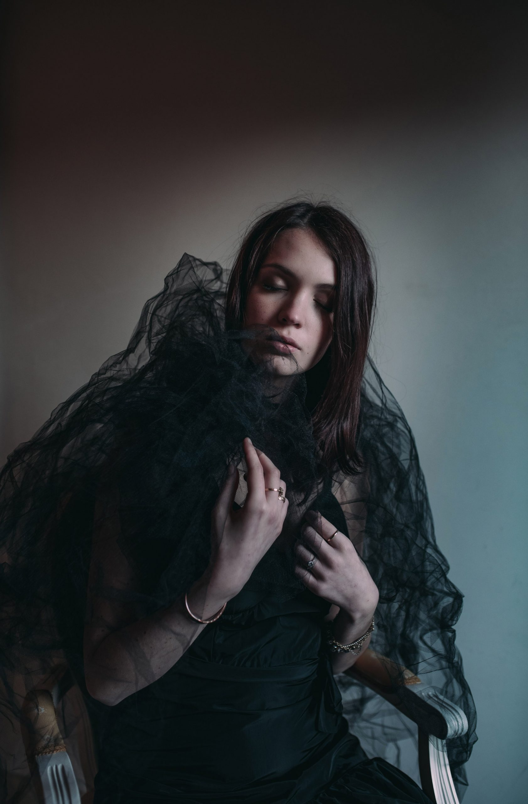 Categorie: Fashion, Fine Art, Portrait; Photographer: STEFANIA RIGO; Model: ALESSIA CAZZADOR; Location: Noale, VE