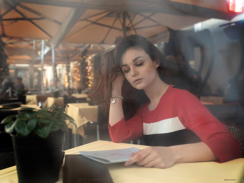 Categorie: Portrait; Photographer: GAETANO PASTORE; Model: CORA GASPAROTTI; Location: Trastevere, Roma, RM, Italia