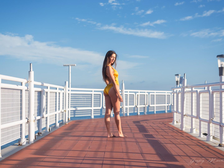 Categorie: Fashion, Glamour, Portrait; Photographer: GREGORY MARCHETTI; Model: LAURA ROSE; Location: Lignano Sabbiadoro, UD, Italia